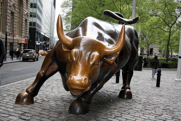 Bull Statue on Wall Street