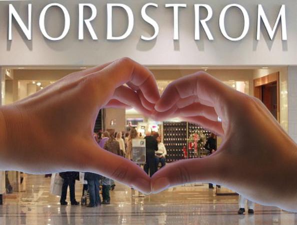 Nordstrom rocks at customer service