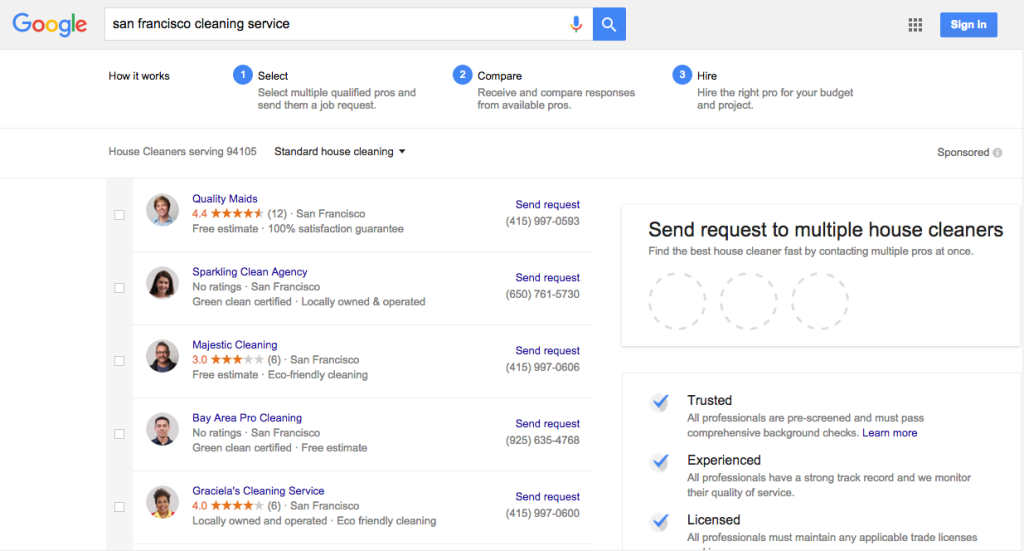 google-home-services-vendor-listing