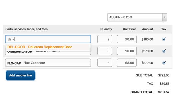 Accurate Invoice